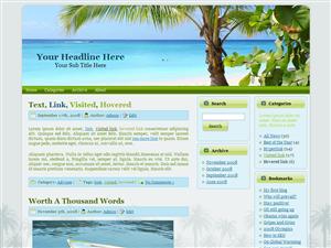 WP Theme - Saona Island