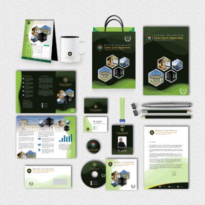 School Print Design Template Pack
