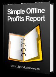 Simple Offline Profits Report