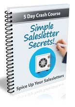 Simple Sales Letter  Secrets eCourse