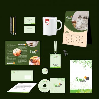 Spa Print Design Template Pack