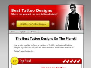 WP Theme - Tattoo Theme