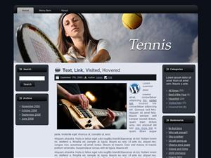 WP Theme - Tennis