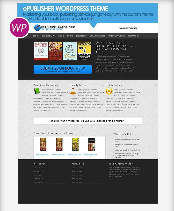 WP Theme - ePublisher Theme