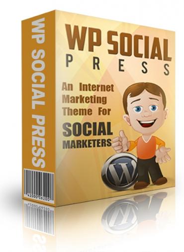 WP Social Press WP Theme