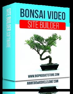SoftwareBonsaiVideoSiteBuilderSoftware