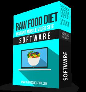 SoftwareRawFoodDietInstantMobileVideoSiteSoftware