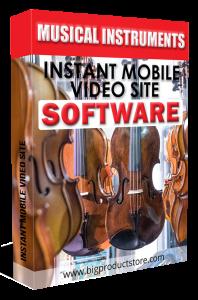 MusicalInstrumentsMobileVideoSiteSoftware