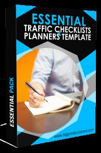 EssentialTrafficChecklists&PlannersTemplatePack