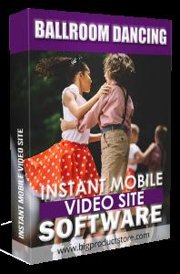 BallroomDancingInstantMobileVideoSiteSoftware