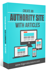 CreateAnAuthoritySiteWithArticles