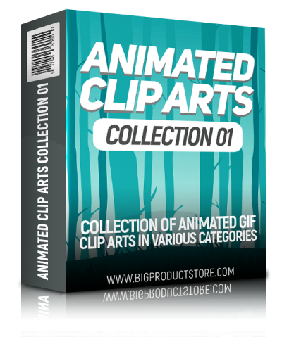 Animated Clip Arts Collection 1