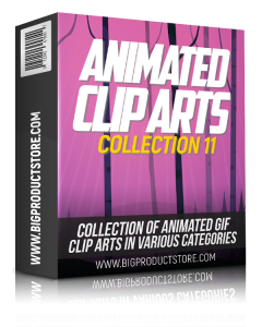 Animated Clip Arts Collection 11