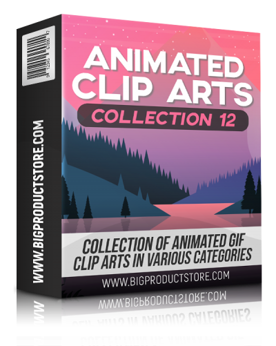 Animated Clip Arts Collection 12
