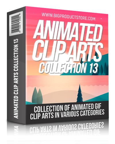 Animated Clip Arts Collection 13