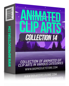 Animated Clip Arts Collection 14