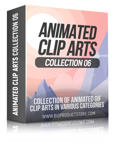Animated Clip Arts Collection 6