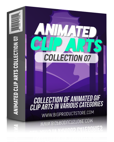 Animated Clip Arts Collection 7