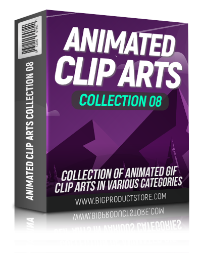 Animated Clip Arts Collection 8