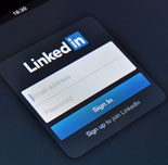 KIEV, UKRAINE - Jan 12 2013: A close-up of an screen showing the Linkedin login page. Linkedin is a social networking website for people in professional occupations. Founded in December 2002 and launched on May 5 2003. On Jan 12 2013 in Kiev, Uk