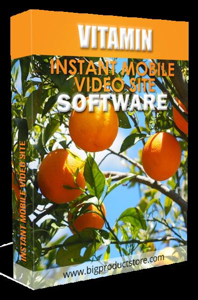 VitaminInstantMobileVideoSiteSoftware
