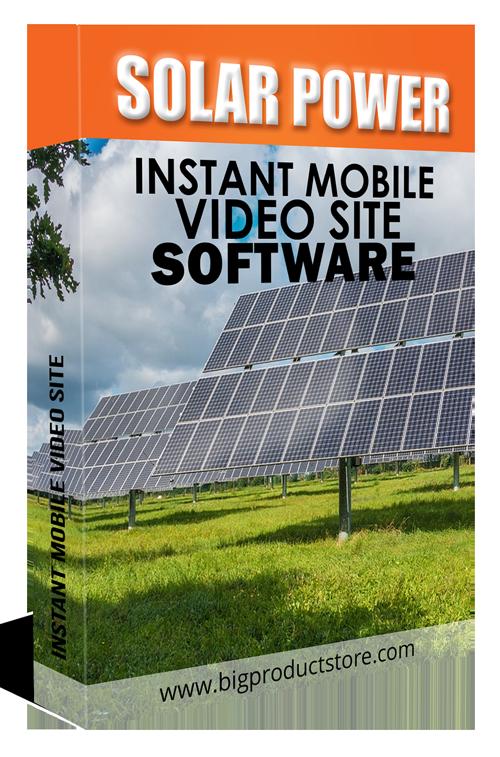 SolarPowerInstantMobileVideoSiteSoftware