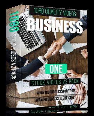 BusinessOne1080StockVideosV2Pack