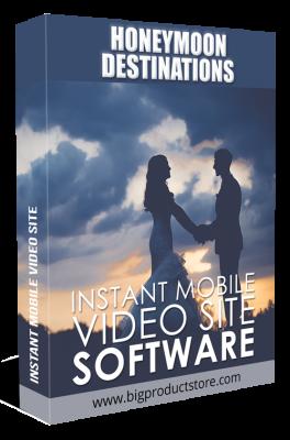 HoneymoonDestinationsInstantMobileVideoSiteSoftware
