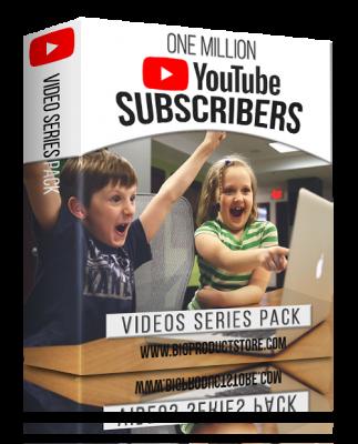OneMillionYouTubeSubscribersVideoSeriesPack