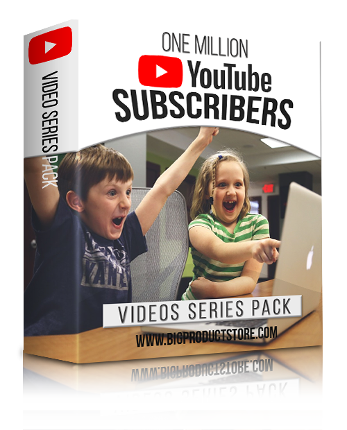 OneMillionYouTubeSubscribersVideoSeriesPack