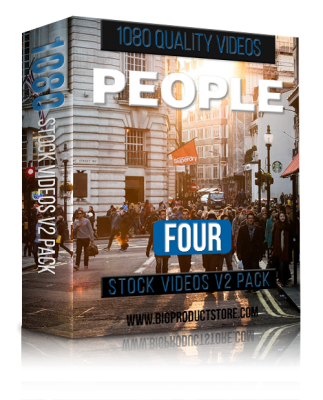 PeopleFour1080StockVideosV2Pack