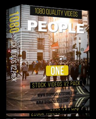 PeopleOne1080StockVideosV2Pack