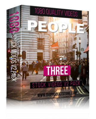PeopleThree1080StockVideosV2Pack