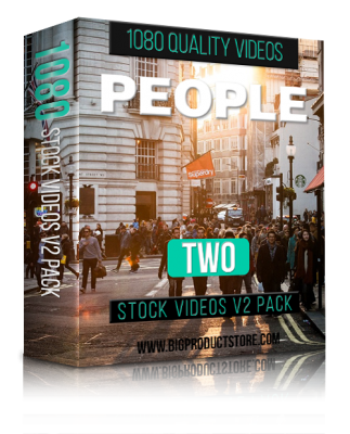 PeopleTwo1080StockVideosV2Pack