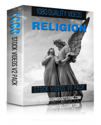 Religion1080StockVideosV2Pack