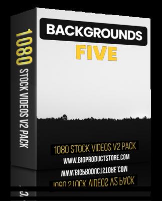 BackgroundFive1080StockVideosV2Pack