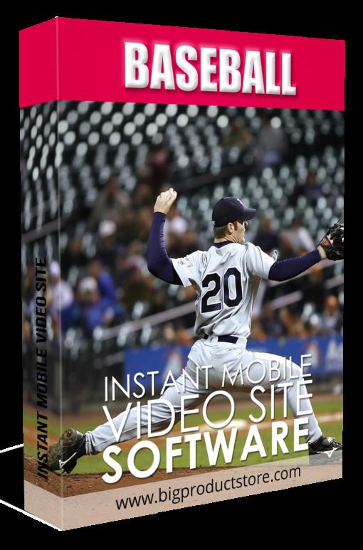 BaseballInstantMobileVideoSiteSoftware