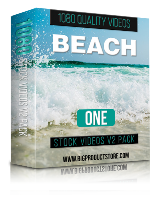 BeachOne1080StockVideosV2Pack