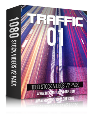 TrafficOne1080StockVideosV2Pack