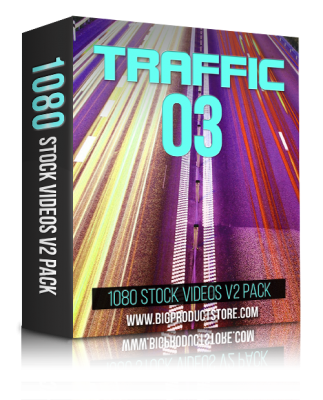 TrafficThree1080StockVideosV2Pack