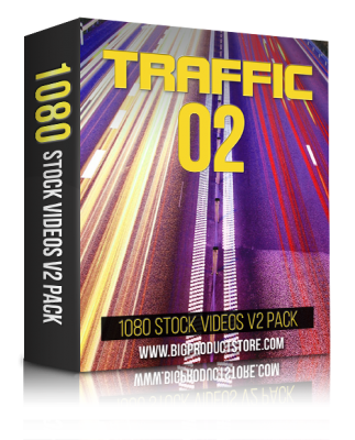 TrafficTwo1080StockVideosV2Pack