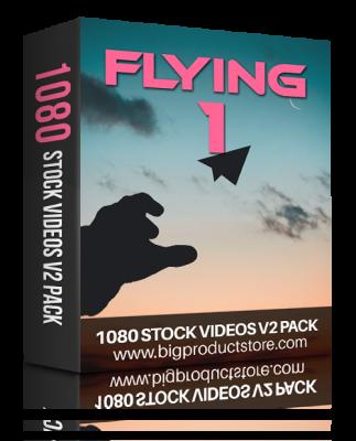 FlyingOne1080StockVideosV2Pack