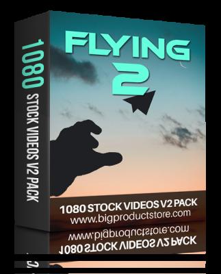 FlyingTwo1080StockVideosV2Pack