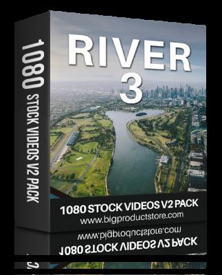 RiverThree1080StockVideosV2Pack