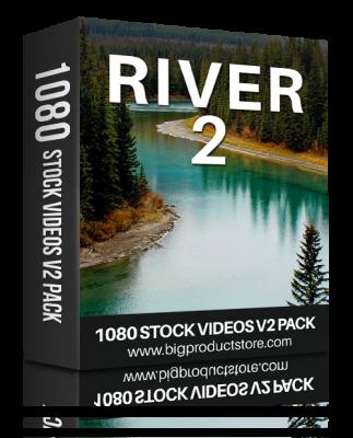 RiverTwo1080StockVideosV2Pack