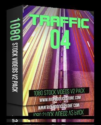 TrafficFour1080StockVideosV2Pack
