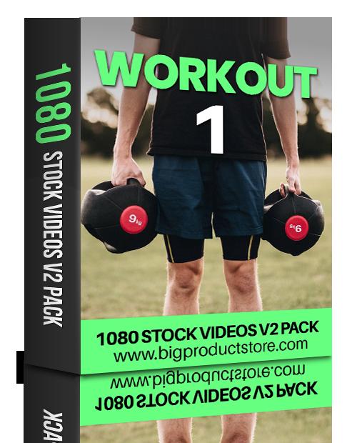 WorkoutOne1080StockVideosV2Pack