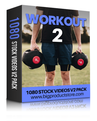 WorkoutTwo1080StockVideosV2Pack