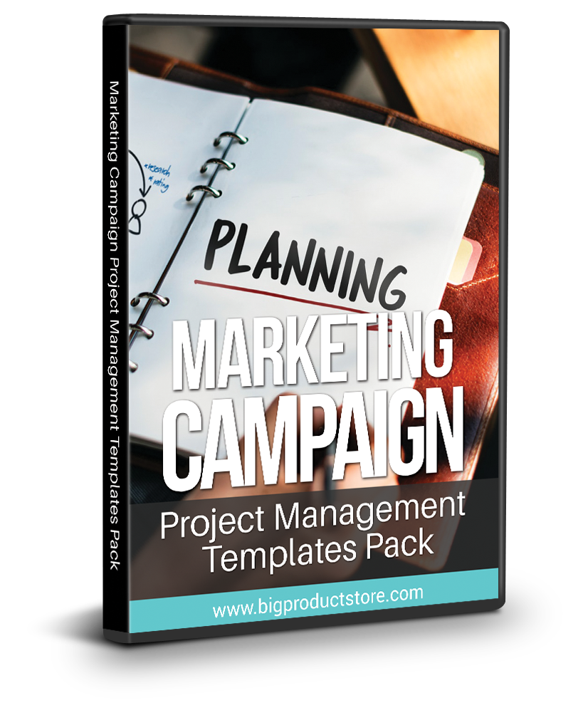 Marketing Campaign Project Management Templates Pack ...